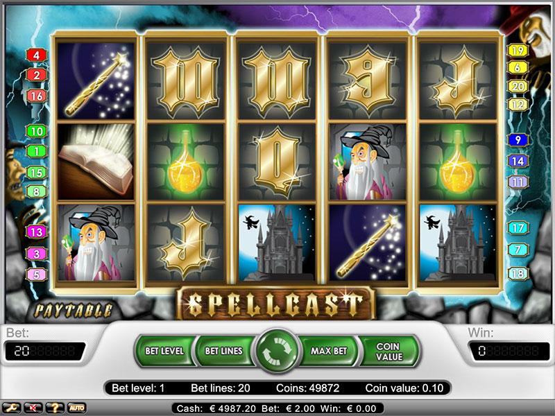 Spellcast Slot -481513