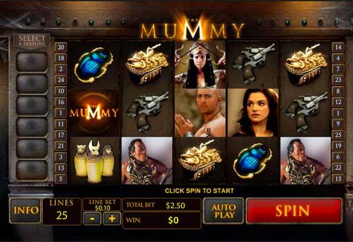 The Mummy Slot -962031