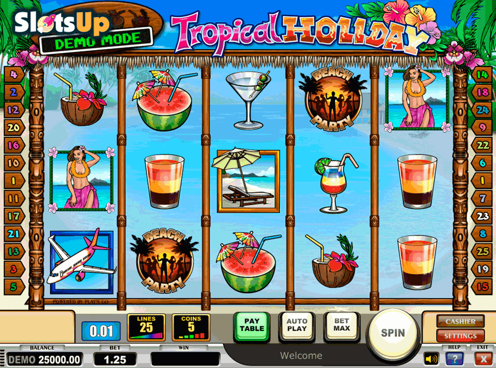 Tropical Holiday Slot -236103