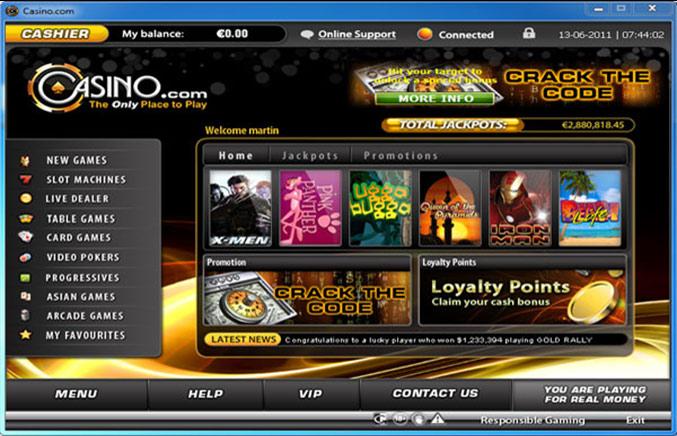 Welcome Bonus Casino -233800
