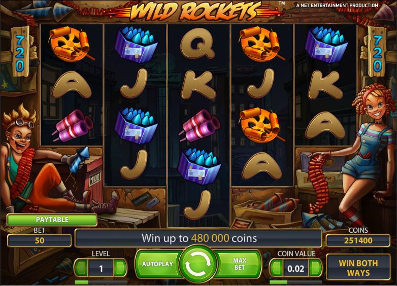 Wild Rockets Slot -736726