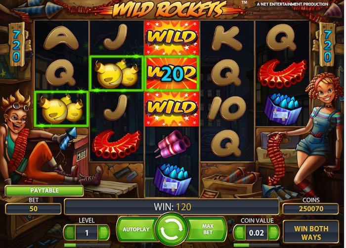 Wild Rockets Slot -864069